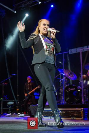 Anastacia - Anastacia performing live on stage at Campo Pequeno - Lisbon, Portugal - Thursday 23rd October 2014