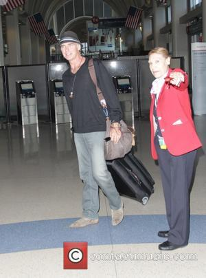 Jeff Fahey - Lost star, Jeff Fahey departs Los Angeles International Airport (LAX) - Los Angeles, California, United States -...
