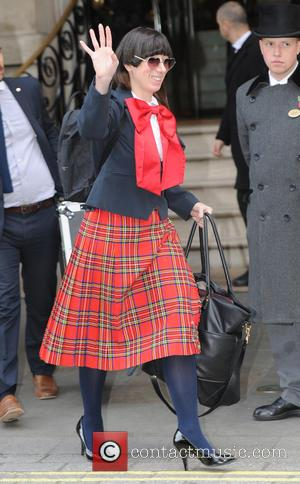 Lady Starlight - Lady Starlight leaving her London hotel on her way to  support Lady Gaga at The O2...