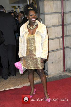 Baroness Floella Benjamin - Opening night of 'Memphis' the musical at the Shaftesbury Theatre in London - Arrivals at Shaftesbury...