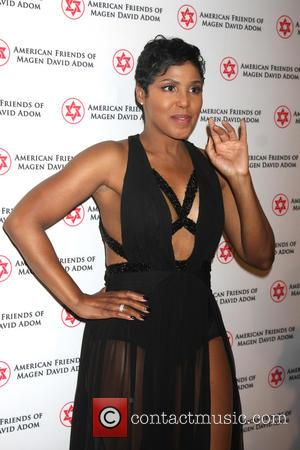 Toni Braxton - American Friends of Magen David Adom's Red Star Ball at The Beverly Hilton - Arrivals at Beverly...