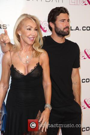 Linda Thompson and Brody Jenner - Life & Style Weekly's 10th anniversary party at SkyBar at the Mondrian - Los...