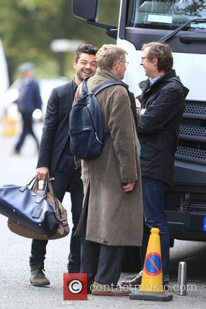 Dominic Cooper and Alan Bennett