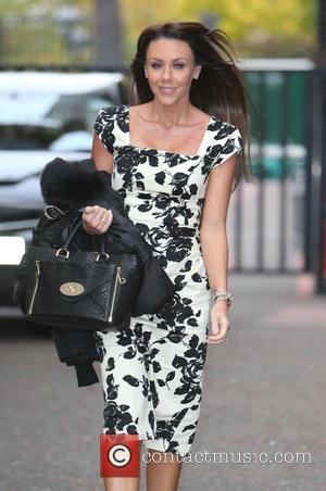 Michelle Heaton - Michelle Heaton outside the ITV Studios - London, United Kingdom - Thursday 23rd October 2014