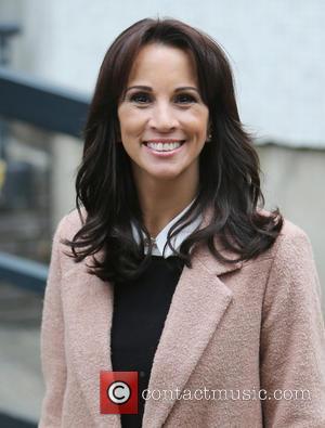 Andrea McLean - Andrea McLean outside ITV Studios - London, United Kingdom - Thursday 23rd October 2014