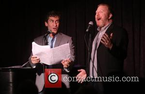 Seth Rudetsky and Hunter Bell