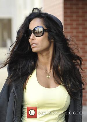 Padma Lakshmi - Padma Lakshmi heads to the gym - Manhattan, New York, United States - Friday 24th October 2014