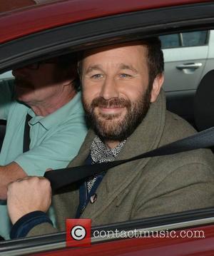 Chris O'Dowd - Irish comedians Chris O'Dowd & Dara O'Briain at The Sugar Club for a live special Today FM's...