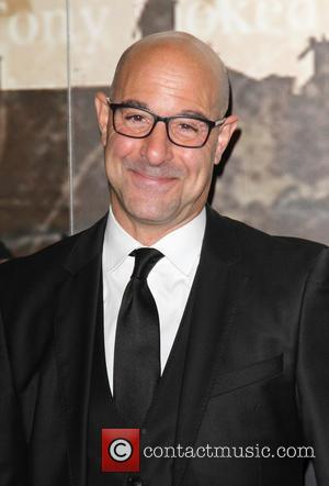 Stanley Tucci - Specsavers Crime Thriller Awards 2014 at the Grosvenor Hotel London - Arrivals at Grosvenor House Hotel, Park...
