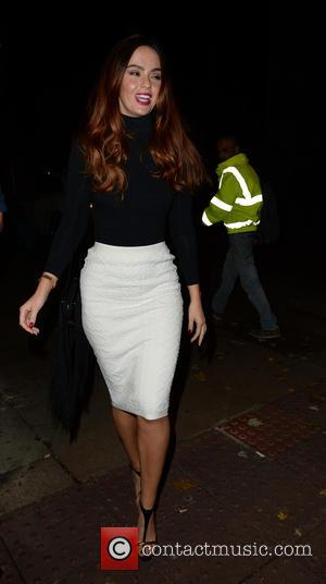 Jennifer Metcalfe - Stars from the cast of British soap opera 'Hollyoaks' were photographed as they arrived at the Neighbourhood...
