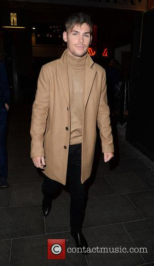 Kieron Richardson - Stars from the cast of British soap opera 'Hollyoaks' were photographed as they arrived at the Neighbourhood...