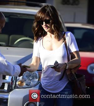 Minka Kelly - Minka Kelly tips the valet $20 as she leaves Meche Salon in Beverly Hills - Los Angeles,...