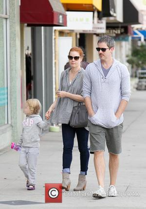 Amy Adams, Darren Le Gallo and Aviana Le Gallo
