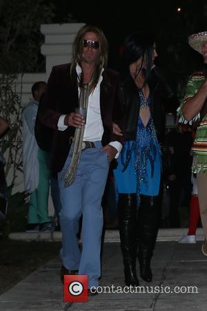 Cindy Crawford and Rande Gerber