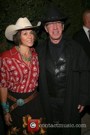 Tim Allen and Jane Hajduk - Celebrities seen attending the Casamigos Tequila Party. at Beverly Hills - Los Angeles, California,...