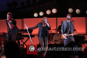 Charles Kelley, Hillary Scott and Dave Haywood - Celebrities perform onstage during We Can Survive 2014 at the Hollywood Bowl...