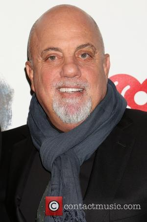 Billy Joel - Opening night of Broadway's 'The Last Ship' at the Neil Simon Theatre - Arrivals at Neil Simon...