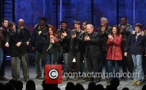 Aaron Lazar, Jimmy Nail, Rachel Tucker, Michael Esper, Fred Applegate, Sally Ann Triplett and Collin Kelly-sordelet