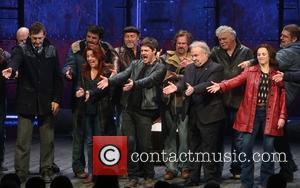 Jimmy Nail, Rachel Tucker, Michael Esper, Fred Applegate and Sally Ann Triplett - Photographs of the Opening night curtain call...