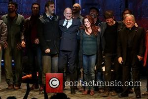 Jimmy Nail, Sting, Gordon Sumner, Rachel Tucker, Michael Esper and Fred Applegate - Photographs of the Opening night curtain call...