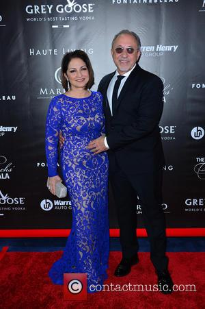 Gloria Estefan and Emilio Estefan - The Blacks Annual Gala held at Fontainebleau Miami Beach at Fontainebleau Miami Beach -...