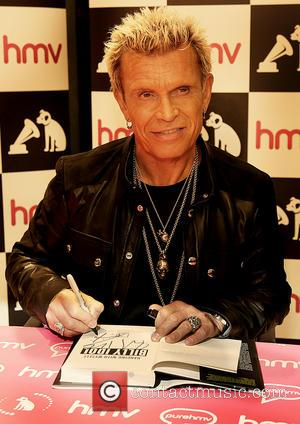 Billy Idol - Billy Idol meets fans and signs copies of his new CD and autobiography entitled 'Dancing With Myself''...