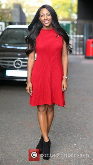 Alexandra Burke - Alexandra Burke outside ITV Studios - London, United Kingdom - Monday 27th October 2014