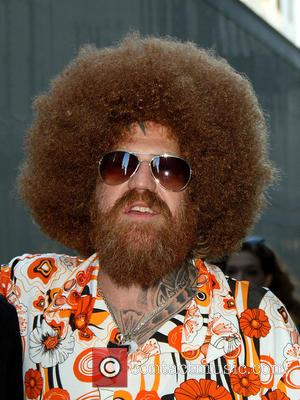Brent Hinds - Celebrities outside the Ed Sullivan Theater as they arrive for the 'Late Show with David Letterman' at...