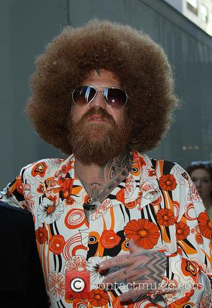 David Letterman and Brent Hinds