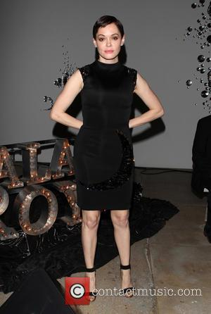 Rose McGowan - Photographs from the audience and atmosphere at the Gavlak Hollywood gallery opening fashion show held at the...