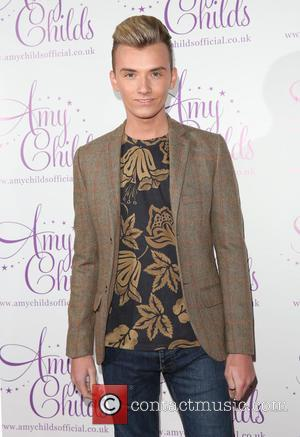 Harry Derbidge - Amy Childs clothing collection  3rd birthday party - Arrivals - London, United Kingdom - Monday 27th...