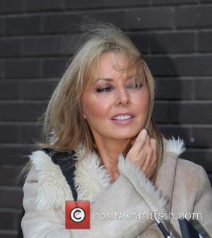 Carol Vorderman - Carol Vorderman outside ITV Studios - London, United Kingdom - Monday 27th October 2014