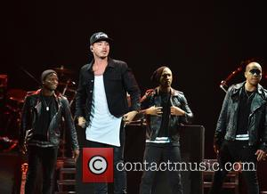J Balvin - Enrique Iglesias and Pitbull perform at the American Airlines Arena with special guest J Balvin at American...