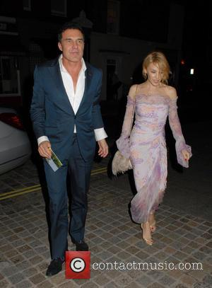 André Balazs and Kylie Minogue