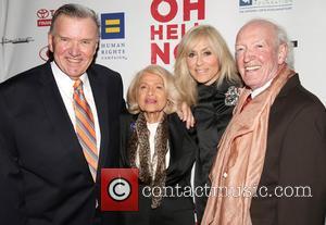 David Mixner, Edie Windsor, Judith Light and Herb Hamsher