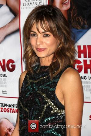 Stephanie Szostak - A variety of stars attended the 'Hit by Lightening' premiere in Hollywood, Los Angeles, California, United States...