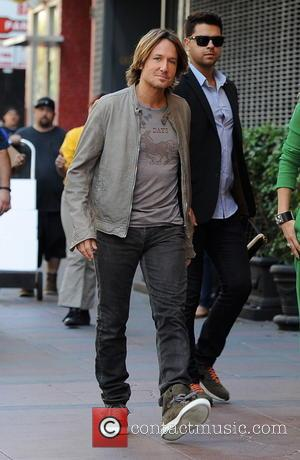 Keith Urban - 'American Idol' judges arriving at the Hollywood week auditions at the Orpheum Theatre.  Jennifer Lopez is...