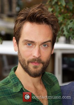 Tom Mison - Tom Mison and John Noble Visit FOX's SLEEPY HOLLOW-een Pumpkin Patch at  Saint Mark's Church GreenMarket...