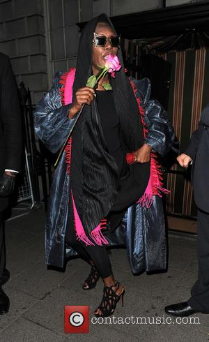Grace Jones - 'Many British stars attended A String of Naked Lightbulbs' afterparty at the legendary nightclub Annabel's which celebrated...