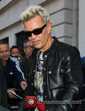 Billy Idol Kicked Crack To Preserve Image