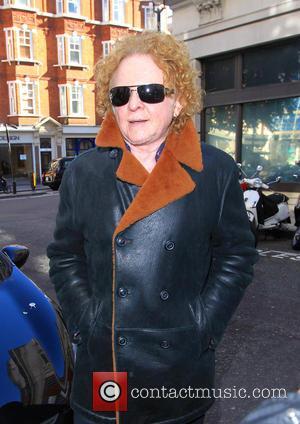 Mick Hucknall - Celebrities at the BBC Radio 2 studios - London, United Kingdom - Tuesday 28th October 2014