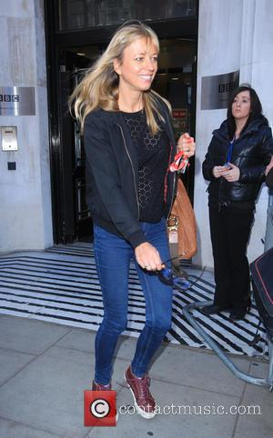 Sara Cox - Celebrities at the BBC Radio 2 studios - London, United Kingdom - Tuesday 28th October 2014