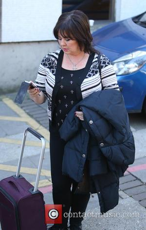 Coleen Nolan - Coleen Nolan outside the ITV studios - London, United Kingdom - Tuesday 28th October 2014