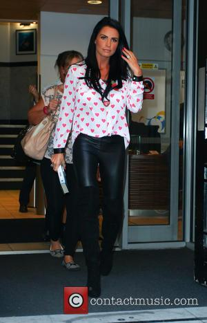 Katie Price and Jordan - Katie Price leaves the BBC Radio 2 studios - London, United Kingdom - Tuesday 28th...