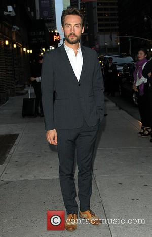 Tom Mison - Tom Mison who plays Icabod Crane in 'Sleepy Hollow' arrives for talk show 'Late Show With David...