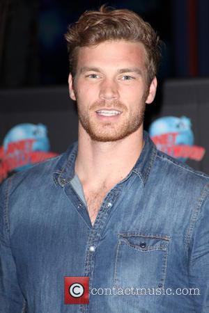 Derek Theler at Planet Hollywood and Times Square
