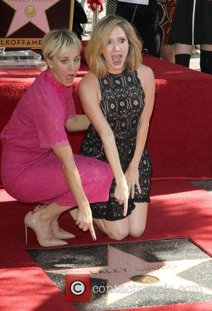 Kaley Cuoco and Ashley Jones - Star of the American TV show 'The Big Bang Theory' Kaley Cuoco was given...