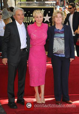 Kaley Cuoco, Gary Carmine Cuoco and Layne Ann Cuoco - Star of the American TV show 'The Big Bang Theory'...