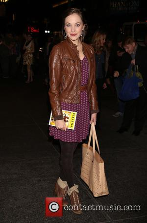 Laura Osnes - Various stars were in attendance to see the First Preview of Broadway's Side Show at the St....