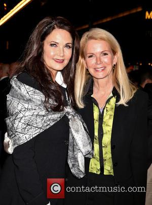 Lynda Carter and Blaine Trump - Various stars were in attendance to see the First Preview of Broadway's Side Show...